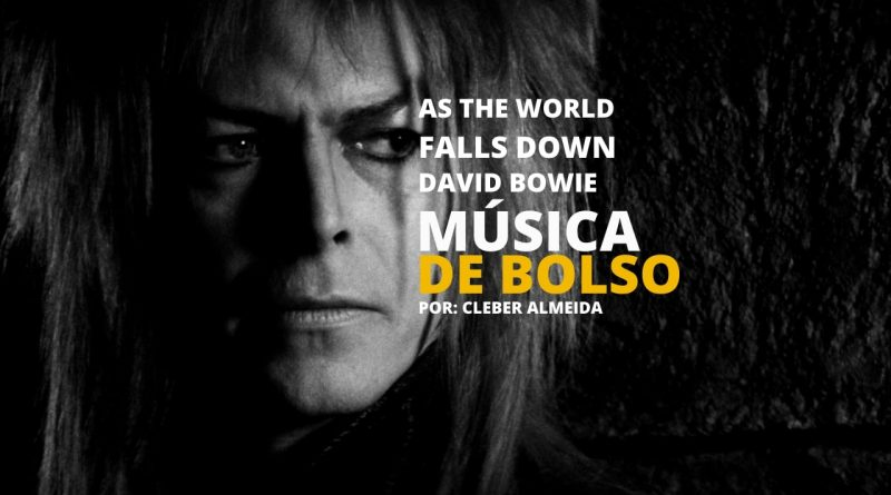 As the world falls down de David Bowie: Conheça mais da música tema de Labirinto - A Magia do Tempo aqui no podcast Música de Bolso!
