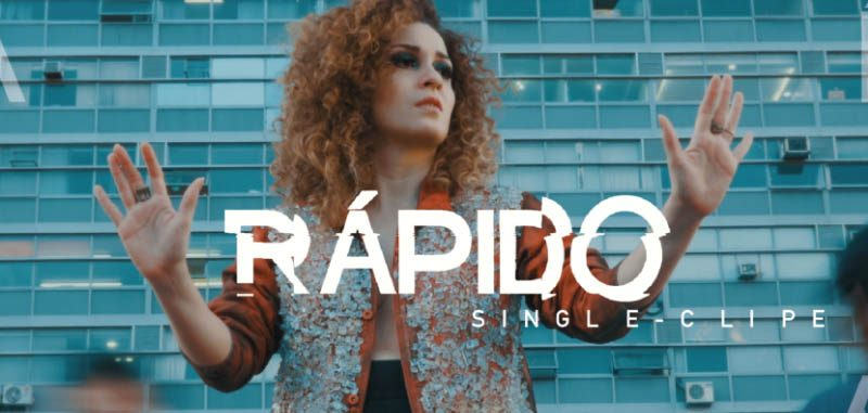 "Vídeo arte marca ""Rápido"" música da cantora Aíla"