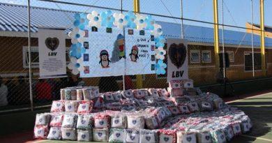 LBV entrega cobertores e cestas de alimentos a milhares de famílias que sofrem com a seca e o frio no país