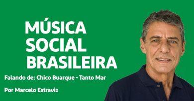 Tanto Mar de Chico Buarque no Podcast Música Social Brasileira