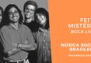 Feito Mistério do Boca Livre no Podcast Música Social Brasileira
